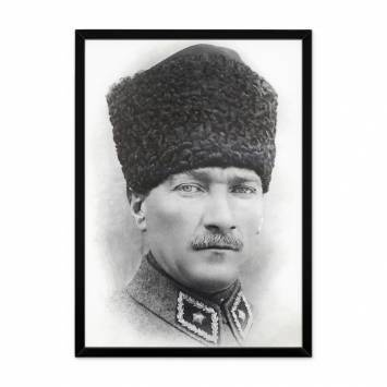 Çerçeveli Atatürk Poster Tablosu