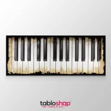 Piyano Tuşları Tablosu (Kampanyalı)