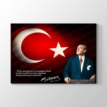 Atatürk Vecize Sözlü Tablo (Kampanyalı)