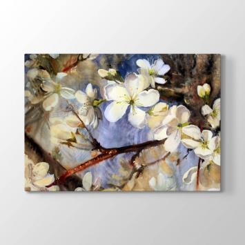 Badem Ağacı ve Çiçeği Tablosu (Kampanyalı)