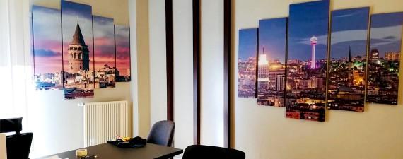 Ofis Dekorasyonu ve Tablo Kullanımı