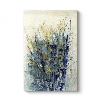 İndigo Çiçekler Tablosu