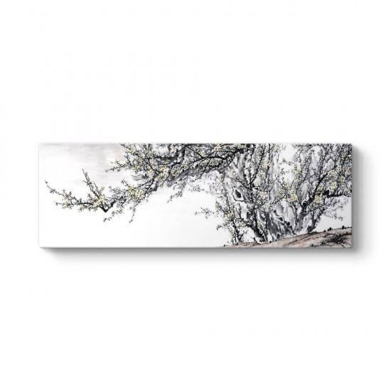Karlı Erik Ağacı Tablosu