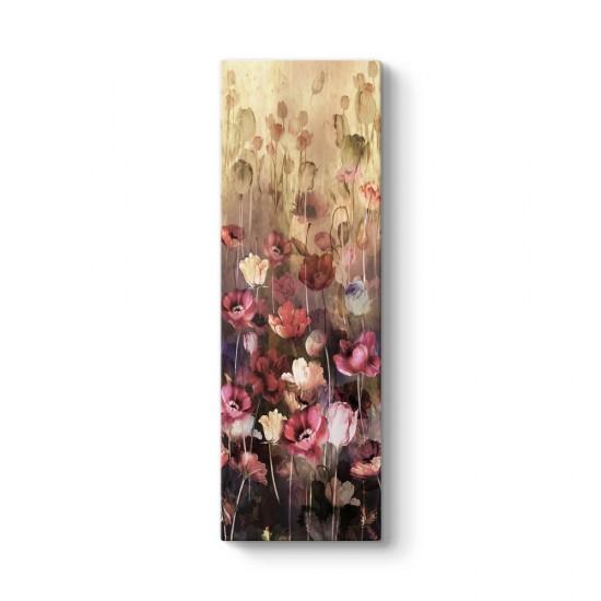 Pastel Çiçek Buketi Tablosu