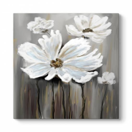 Soğuk Çiçekler Kanvas Tablo