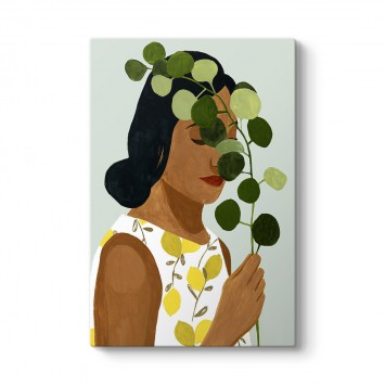 Botanik Kadın Tablosu