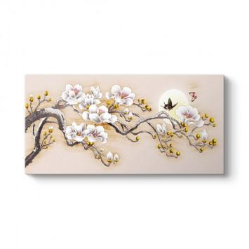 Japon Tarzı Dekoratif Kanvas Tablo