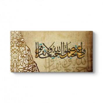 Al-i İmran Suresi 103. Ayeti Tablosu