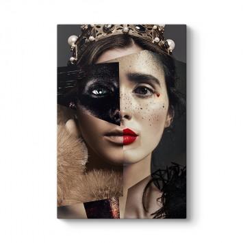 Composition of Women Kanvas Tablo