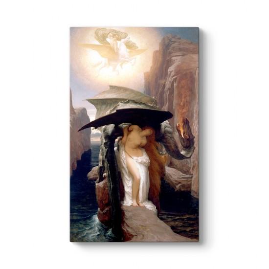 Frederic Leighton - Perseus ve Andromeda Tablosu