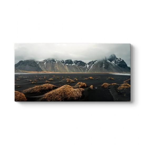 İzlanda Vestrahorn Dağı Tablosu