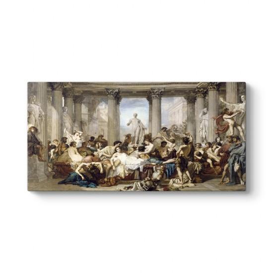 Thomas Couture - Roma'nın Çöküşü Tablosu