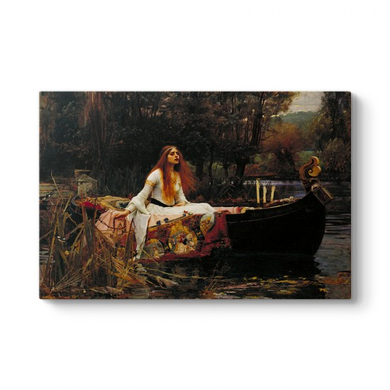 John William Waterhouse - Shalott'un Leydisi Tablosu
