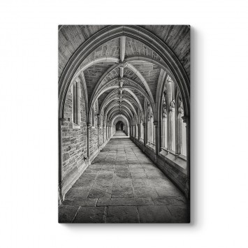 Gotik Koridor Tablosu