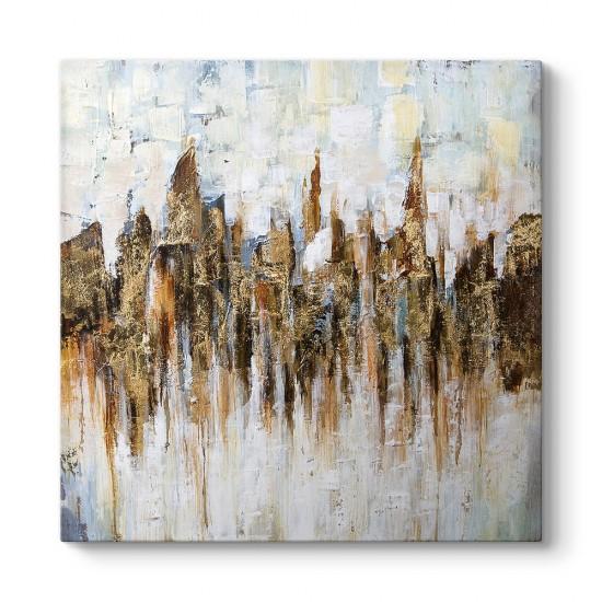 Altın Şehir Kanvas Tablo