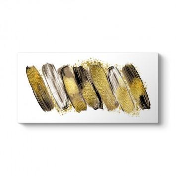 Gold Fırça Darbeleri Tablo
