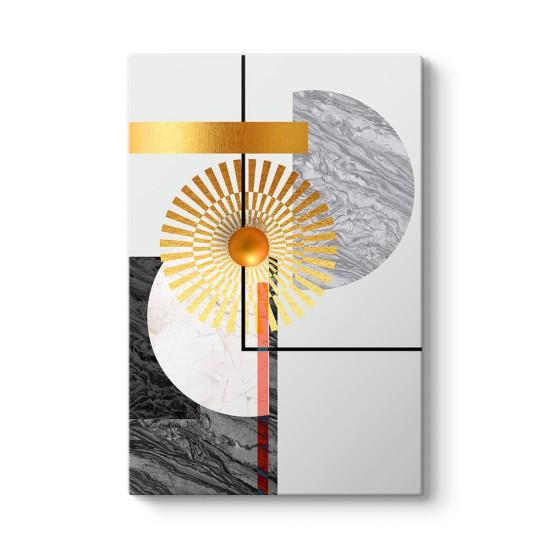 Moon And Sun Kanvas Tablo