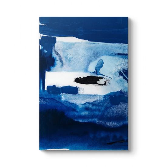 Okyanus Soyut Kanvas Tablo