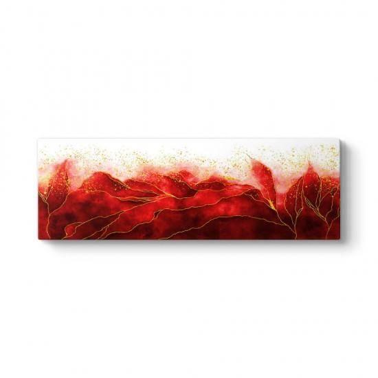 Scarlet Kırmızı Tablo