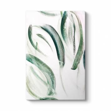 Yosun Yeşili Kanvas Tablo