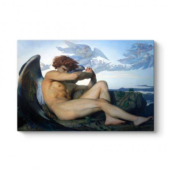 Alexandre Cabanel - Fallen Angel Kanvas Tablo