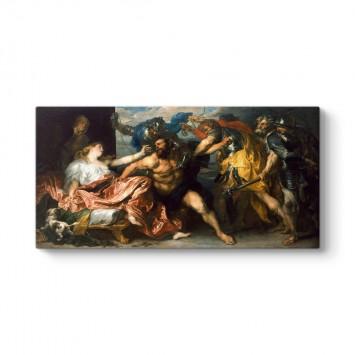 Anthony van Dyck - Samson and Delilah Tablosu