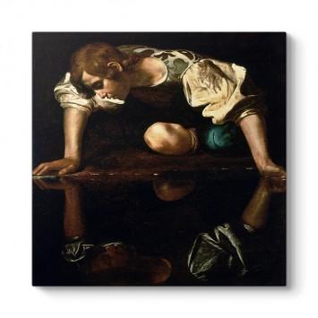 Caravaggio - Narcissus Tablosu