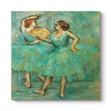 Edgar Degas - İki Dansçı Tablosu