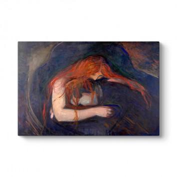 Edvard Munch - Vampir Tablosu