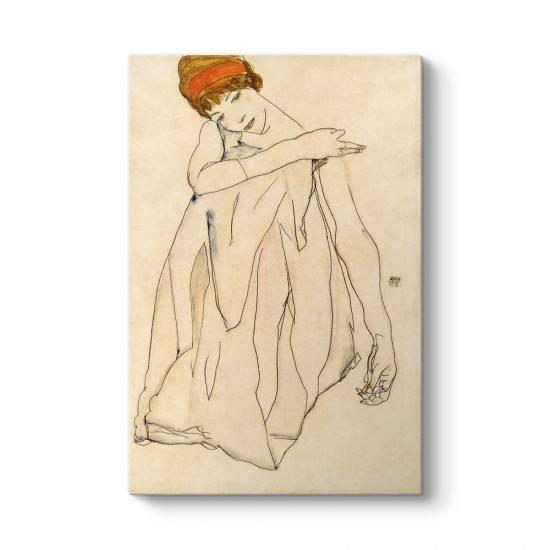 Egon Schiele - Dansçı Tablosu