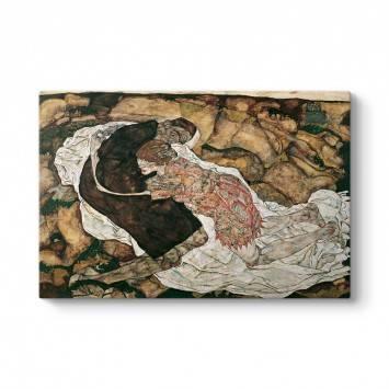 Egon Schiele - Ölüm ve Kız Tablosu