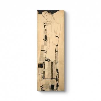 Egon Schiele - Standing Girl Tablosu