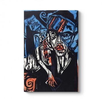 Ernst Ludwig Kirchner - Aşkın Acıları Tablosu