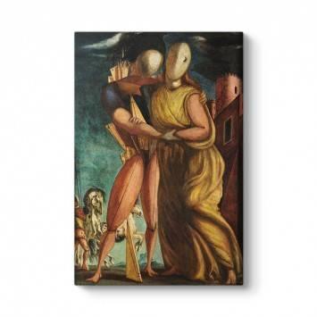 Giorgio de Chirico - Hector ve Andromache Tablosu