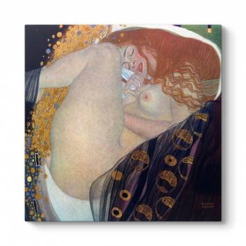Gustav Klimt - Danae Tablosu