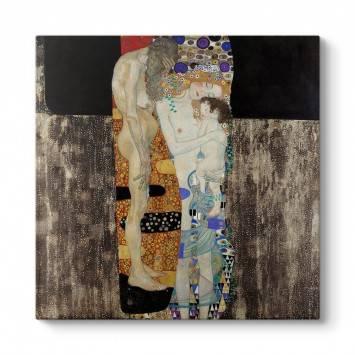 Gustav Klimt - Kadının Üç Çağı Tablosu