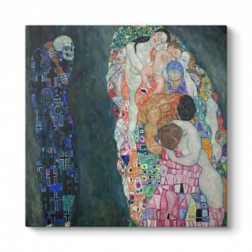 Gustav Klimt - Ölüm ve Yaşam Tablosu
