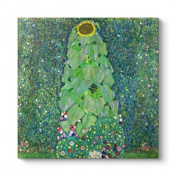 Gustav Klimt - Sunflower Tablosu
