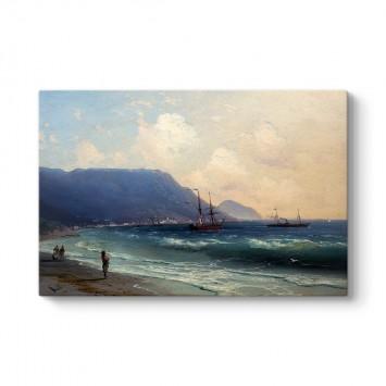 İvan Ayvazovski - Deniz Manzarası Tablosu