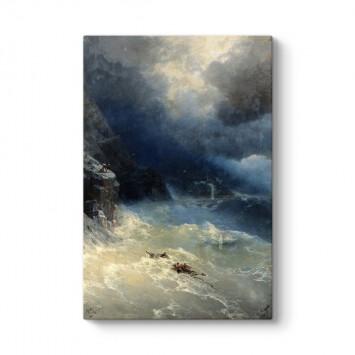 İvan Ayvazovski - Fırtına Tablosu