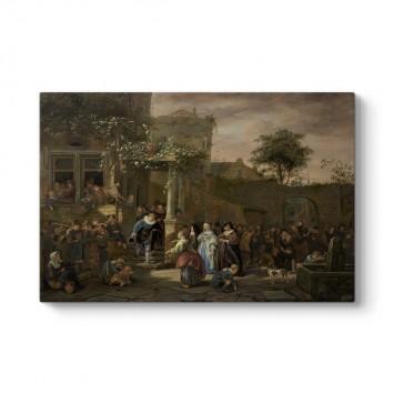Jan Steen - Köy Düğünü Tablosu