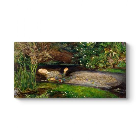 John Everett Millais - Ophelia Tablosu