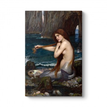 John William Waterhouse - Deniz Kızı Tablosu