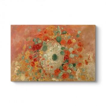 Odilon Redon - Latin Çiçeği Tablosu