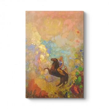Odilon Redon - Muse on Pegasus Tablosu