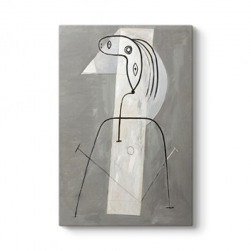 Pablo Picasso - Femme Debout Tablosu