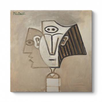 Pablo Picasso - Tete De Femme Tablosu