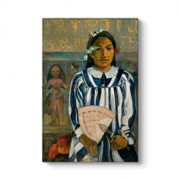 Paul Gauguin - Merahi metua no Tehamana Tablosu