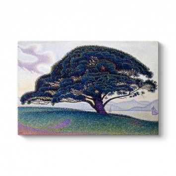 Paul Signac - The Bonaventure Pine Tablosu