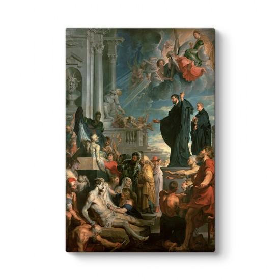 Peter Paul Rubens - Aziz Francis Xavier'in Mucizeleri Tablosu